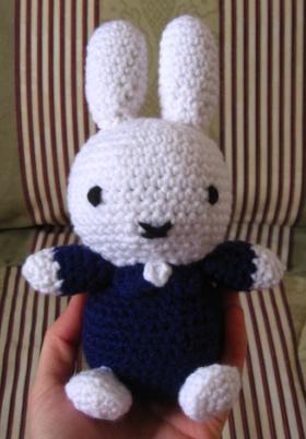 Miffy Amigurumi Crochet Pattern Free : A Gamers Wife: Remix: Miffy the Bunny