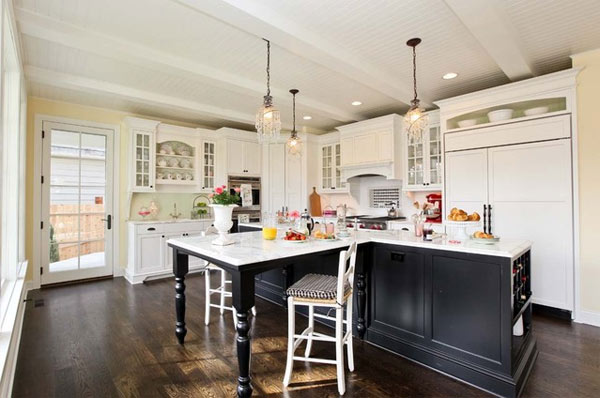 Inspiring You Black Kitchen Furniture And Edgy Details