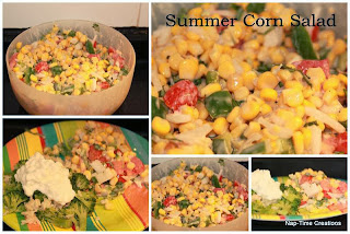http://lifesewsavory.com/2011/08/summer-corn-salad-and-tasty-tuesday.html