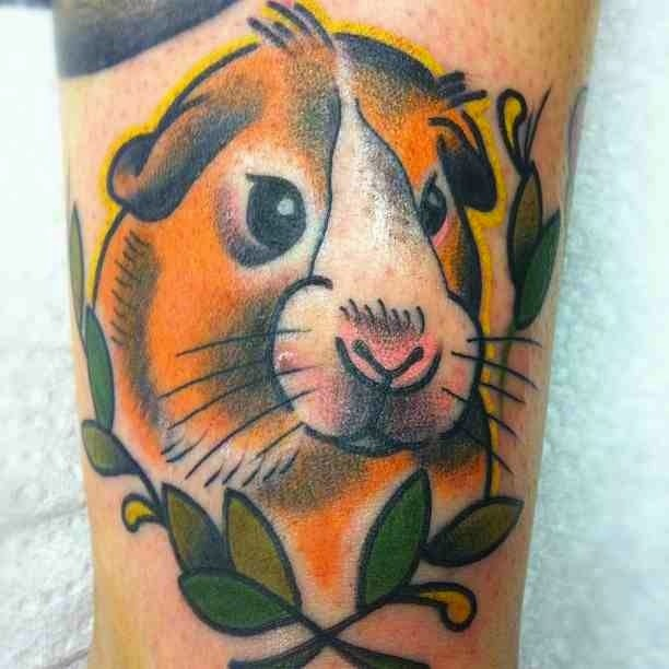 Tatuaje de cobaya, http://distopiamod.blogspot.com