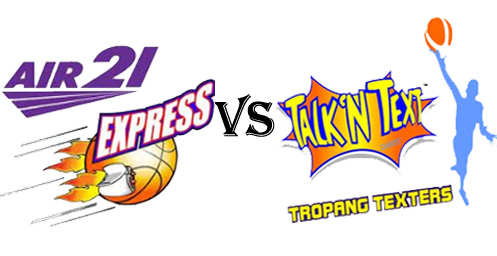 Watch Air21 Express vs Talk N Text Tropang Texters November 25, 2012