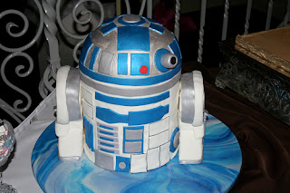 image rd-d2 3D cake star wars