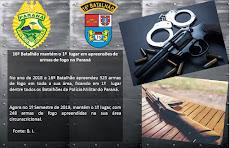16º BPM mantém o 1º LUGAR em apreensões de armas de fogo no Paraná