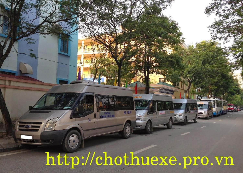 Cần thuê xe đưa đón học sinh trên địa bàn thành phố Hà Nội
