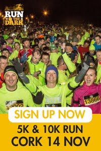 Run in the Dark 5k & 10k in Cork City... Wed 14th Nov 2018
