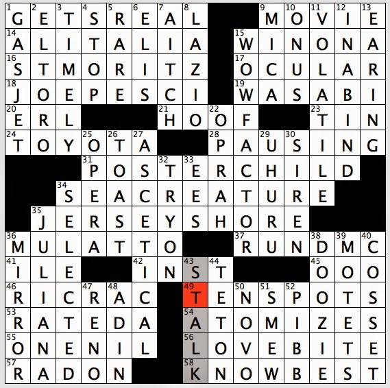 Saturday July 26 2014  sc 1 st  Rex Parker - blogger & Rex Parker Does the NYT Crossword Puzzle: Zigzag ribbon / SAT 7-26 ... 25forcollege.com