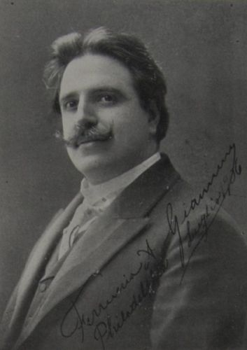 GREAT ITALIAN TENOR FERRUCCIO GIANNINI (1868-1948) CD