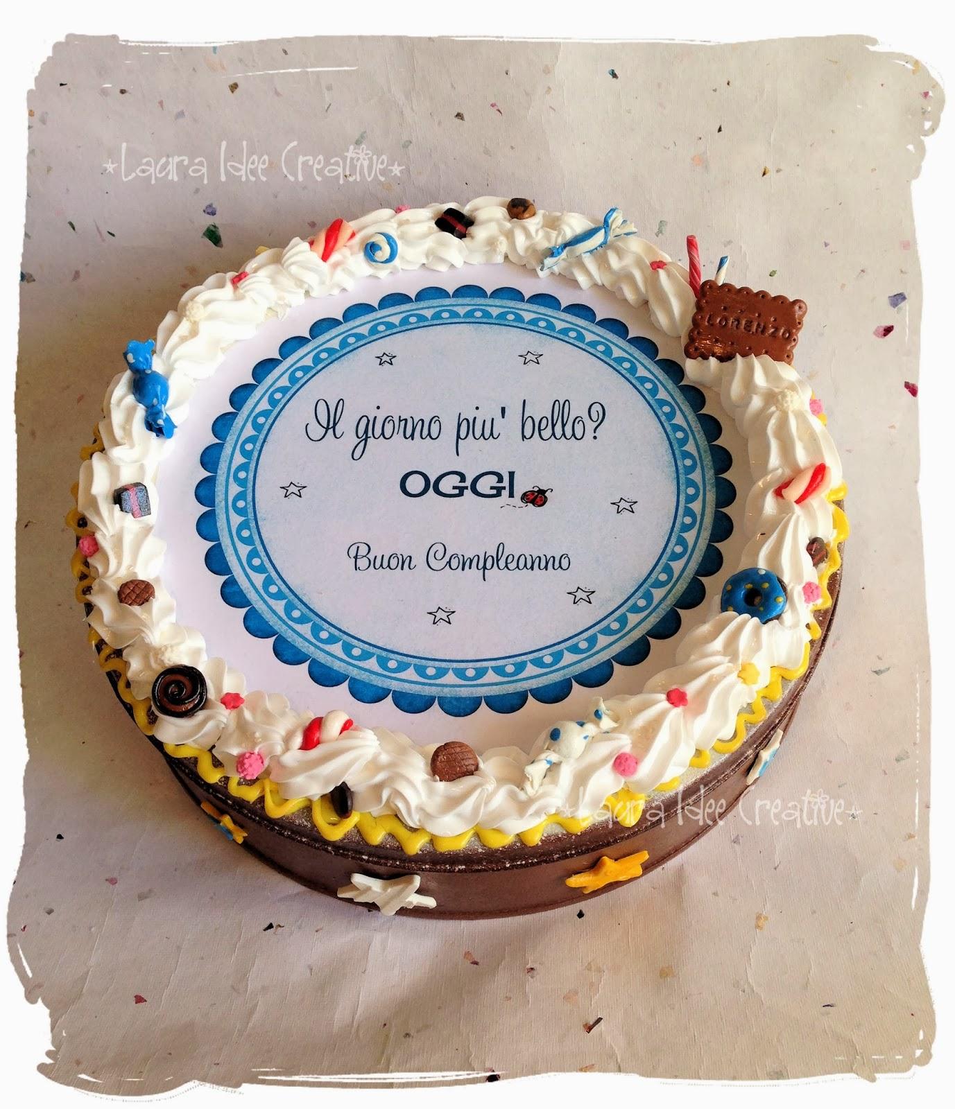 Laura idee creative scatola dolciosa di compleanno for Idee per torta di compleanno