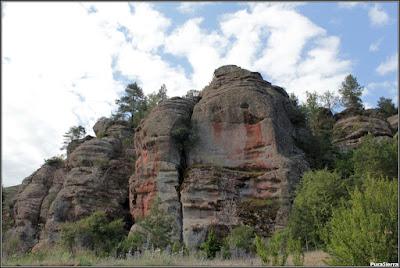 Formación rocosa (Chequilla)