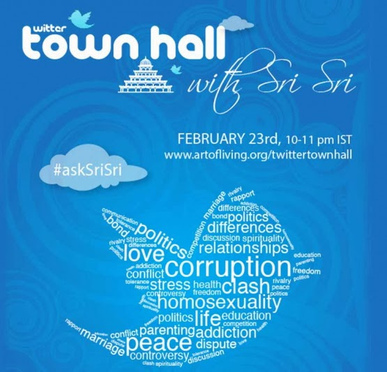 Twitter Town Hall with Sri Sri Ravi Shankar