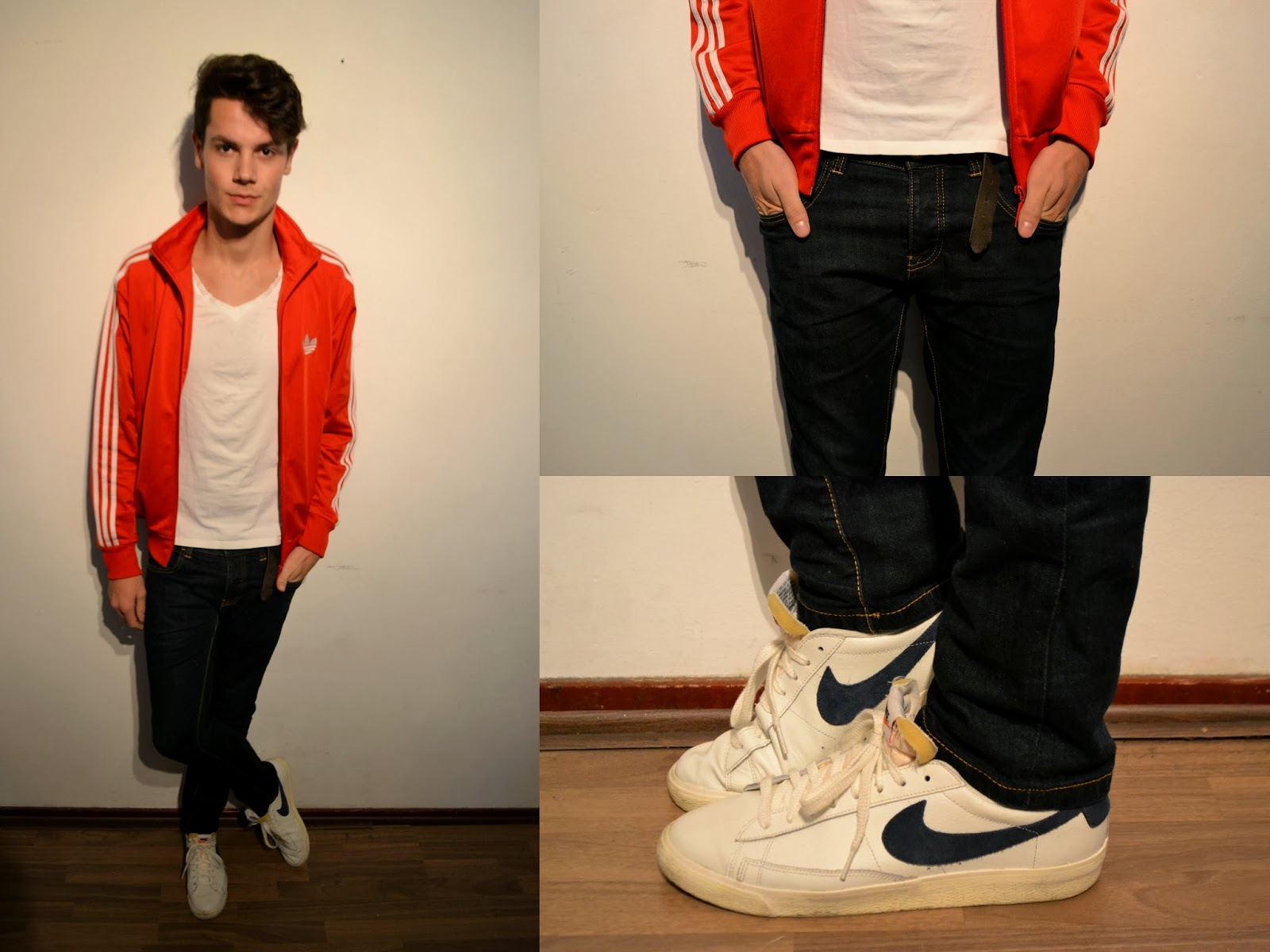 lovely adidas red jacket outfit 9