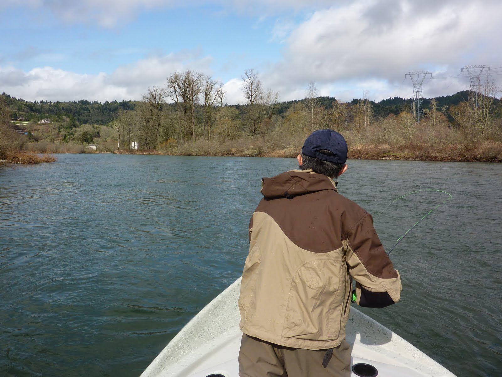 Marcos blog mckenzie river trout fishing thumbs up for Mckenzie river fishing