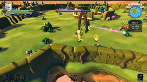 Gameplay Finn and Jake's Epic Quest