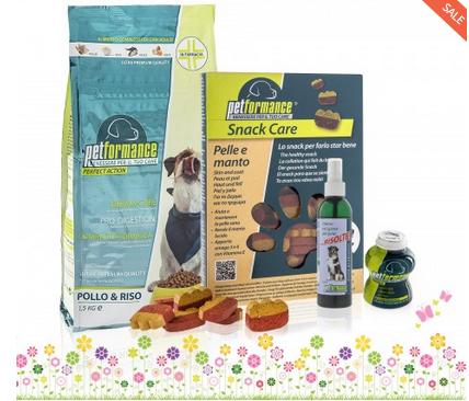 soluzione prebiotica odore igiene pelo snack pelle manto alimenti per cani integratore per cani