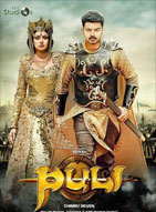 Watch Puli (2015) DVDRip Hindi Full Movie Watch Online Free Download