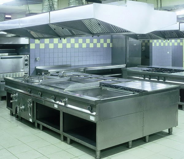 cucina professionale per ristorazione