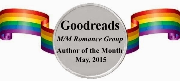 Goodreads M/M Romance Group Author of the Month May, 2015