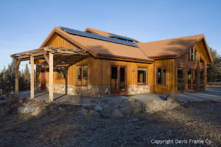 solar timber frame in oregon