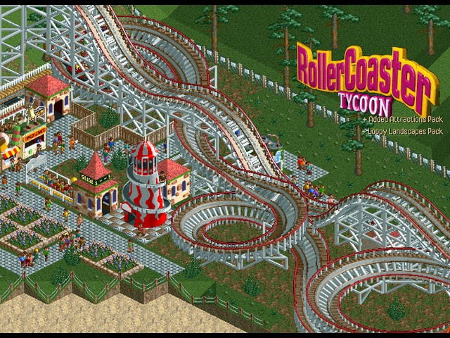 Download Psp Games Miniclip Mf Roller Coaster Tycoon 1