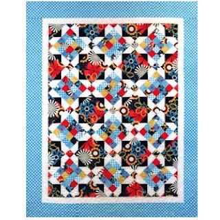 Swirly Girls Design FRENCH GARDEN Quilt Pattern