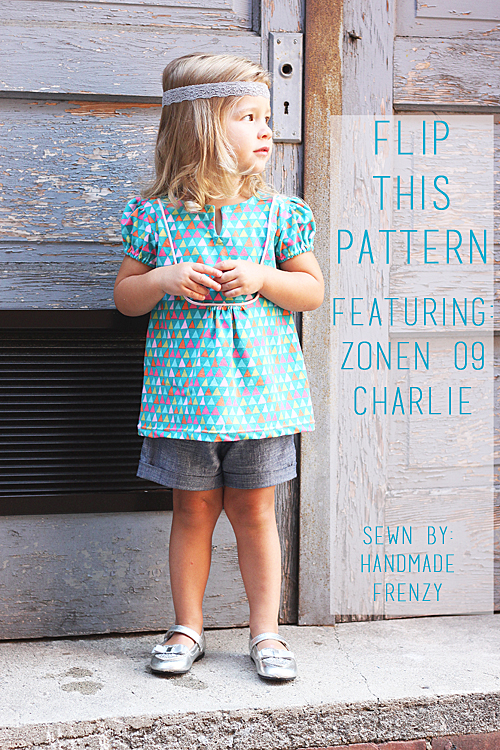"Flip This Pattern - Zonen 09 Charlie ""Flipped"""