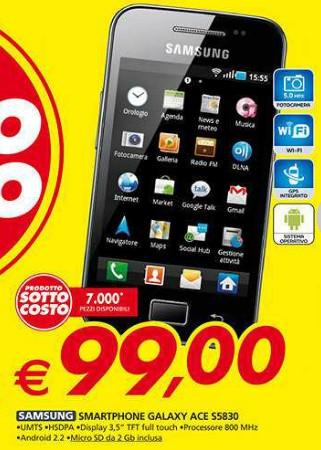 A 99 euro troverete questo smartphone androi di fascia bassa al miglior prezzo mai visto per questo modello