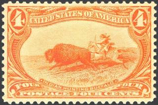 1898 bison stamp