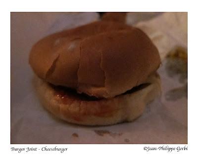 Image of Cheeseburger at Burger Joint at Le Parker Meridien, NYC, New York