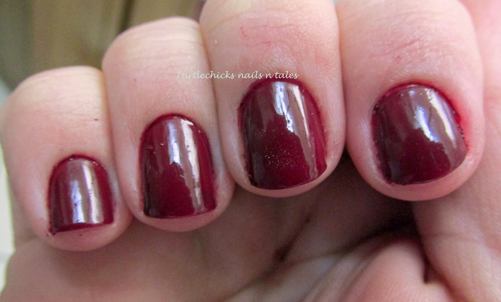 Turtlechick\'s Nails N Tales: LA Colors Vampy Valentine