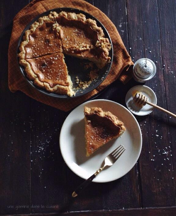 Salted Honey Pie | une gamine dans la cuisine