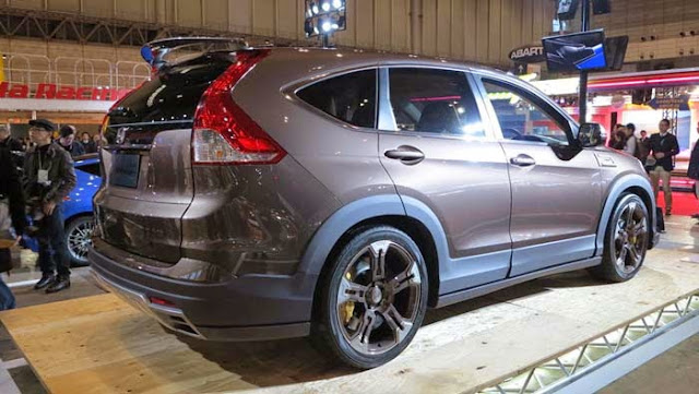 Modifikasi Mobil Honda CRV Terbaru elegan