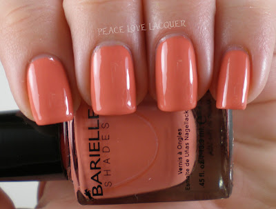 Barielle, Orange Parfait, coral, creme