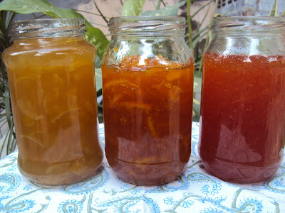making marmalade at home : microwave marmalade recipe : orange, lime and grapefruit marmalade  ....