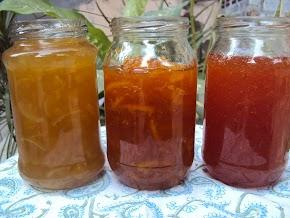 making marmalade at home : microwave marmalade recipe : orange, lime and grapefruit marmalade  ....