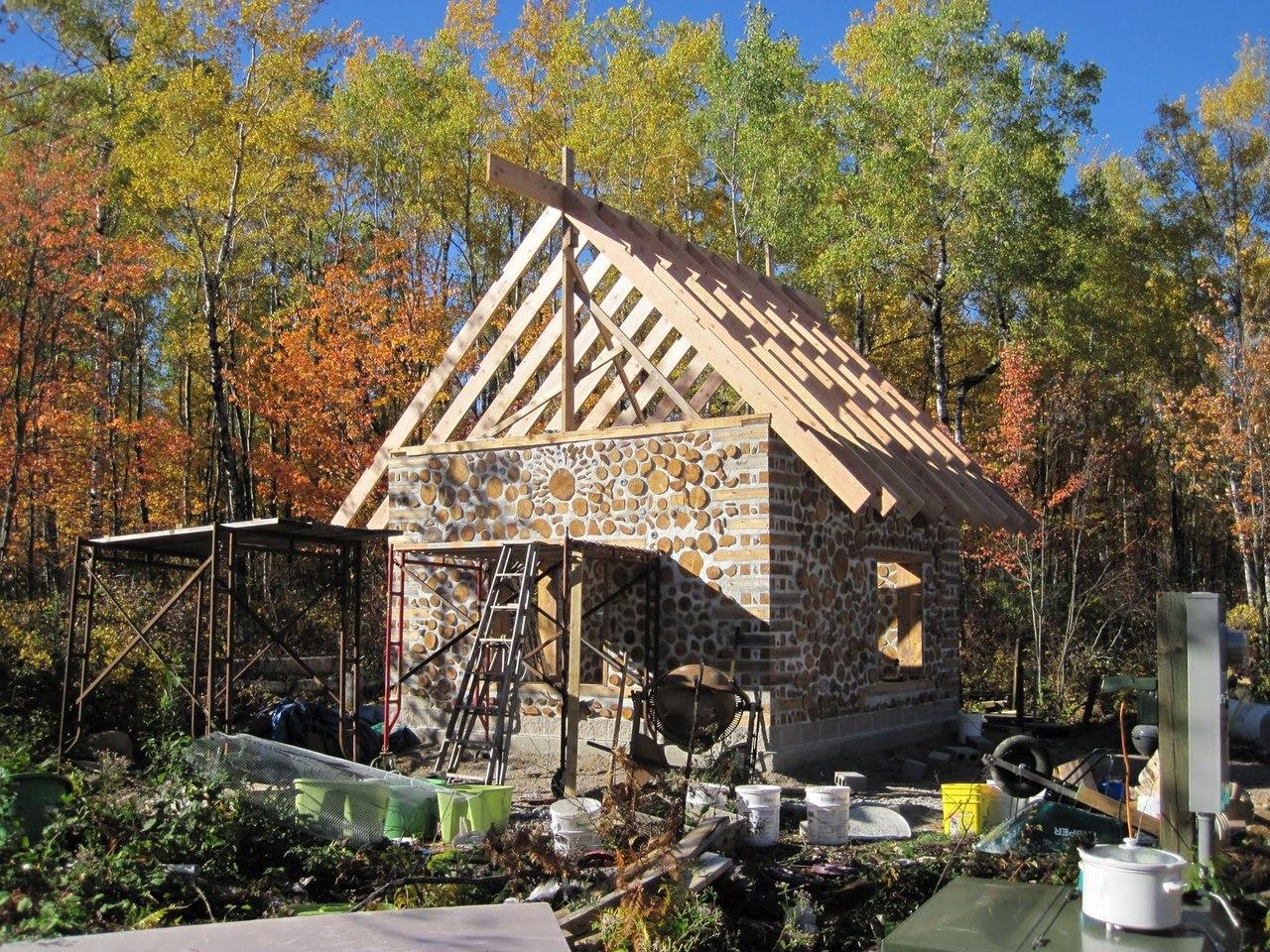 Lloyd s blog beautiful cordwood cabin for Cordwood homes