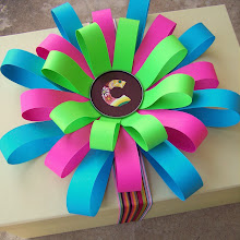 construction paper bows