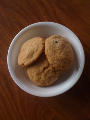 Ginger Cookies  are baked