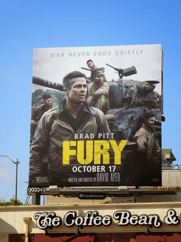 Fury War never ends quietly billboard