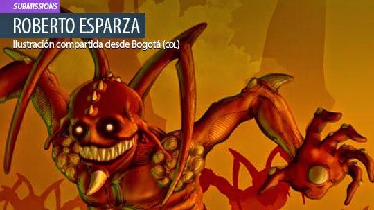 Ilustración. Necroformo de ROBERTO ESPARZA