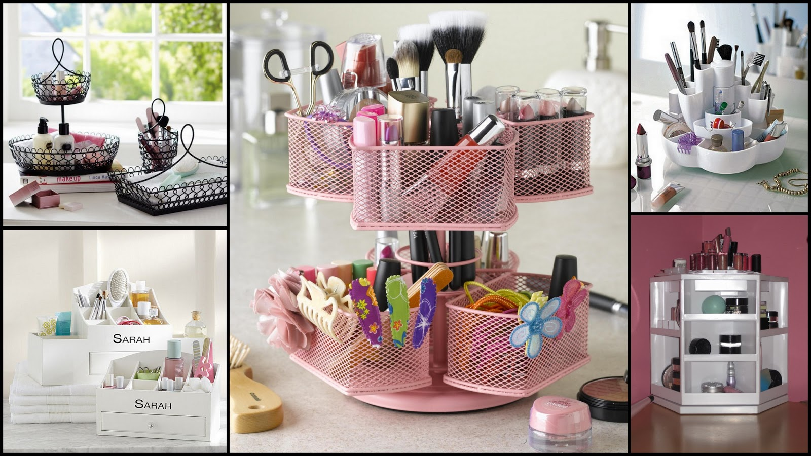 Le boudoir d 39 ines comment ranger son make up quand on - Rangement maquillage fait maison ...