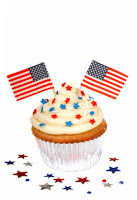 4th if july cupcake