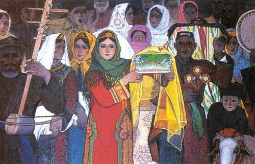 Müslüman düğün - gelenekler ve gelenekler