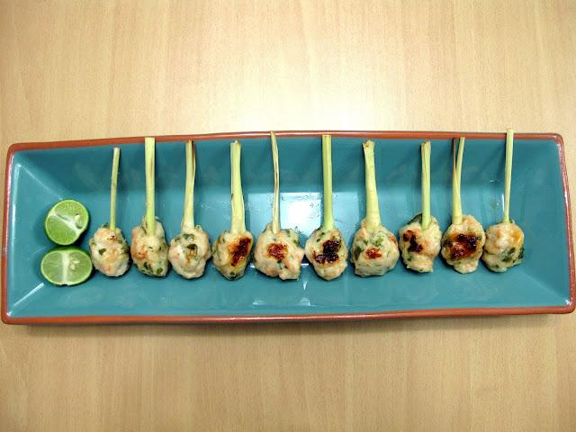 香茅蝦串燒