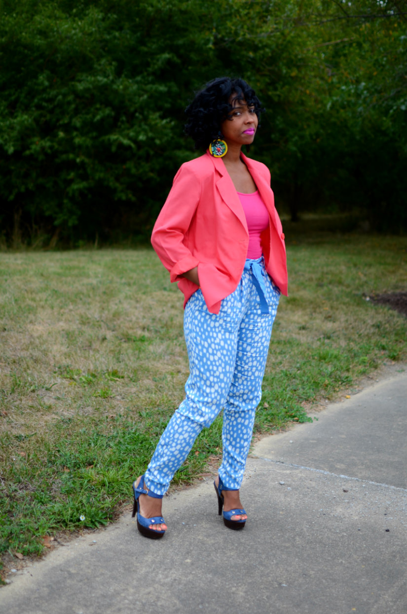 Colorful OOTD