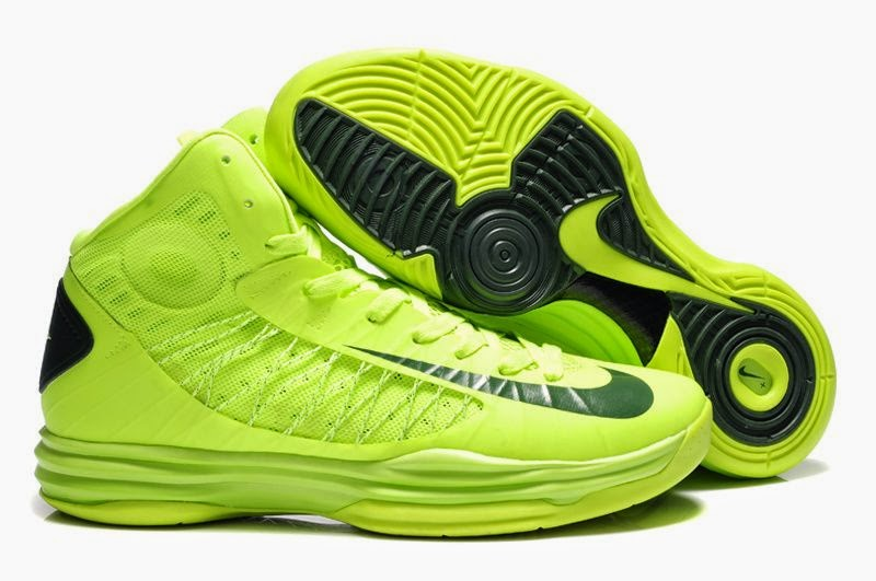 Nike Lunar Hyperdunk 2012 VoltGorge Green Basketball Shoes