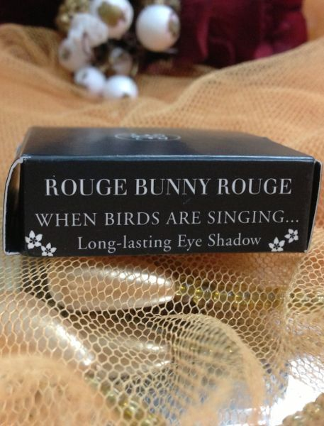 Rouge Bunny Rouge Loose pigment Glitter, Devotion ink eyeliner and Long lasting eyeshadow