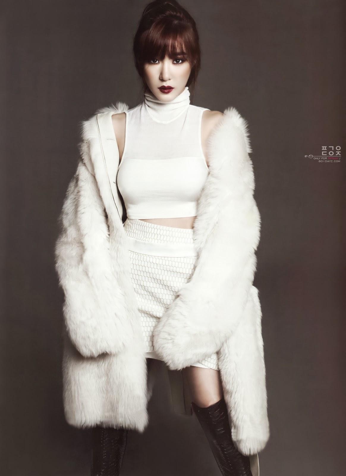 Tiffany SNSD and Bora SISTAR - Harper's Bazaar Magazine January Issue 2014