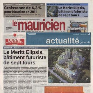 News Mauritius Le Mauricien