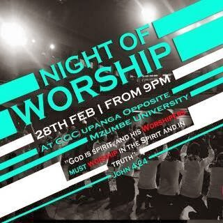 Night of Worship @ CCC Upanga