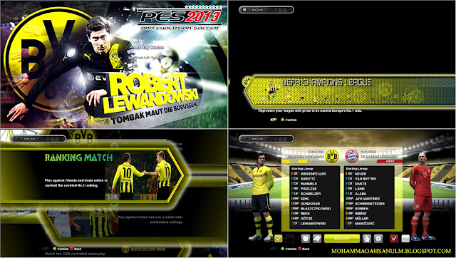 All Mods Graphics Borussia Dortmund by Asun11 & Decky Chandra